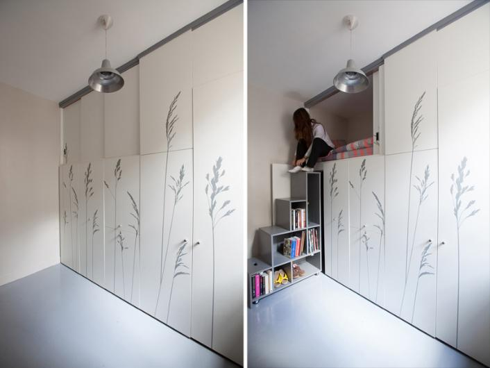 8 metrekarelik evde yaşıyor