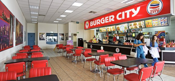 BURGER CİTY'DE YANGIN!