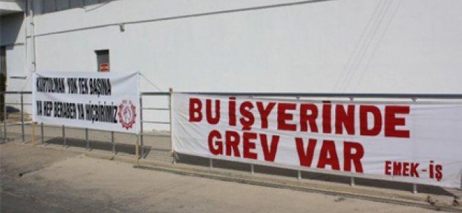 TAŞEL GREVİNE RETUN SEE'DEN DESTEK