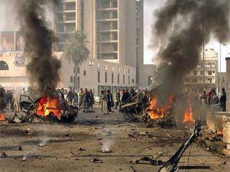 IRAK'TA İKİ BOMBALI SALDIRI... 10 ÖLÜ, 31 KİŞİ