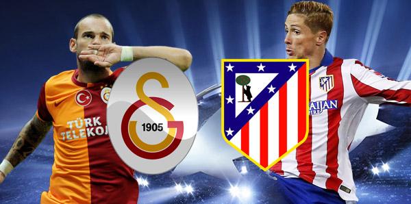 Galatasaray Atletico Madrid maçı hangi kanalda saat kaçta?