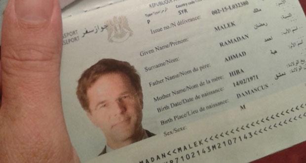 Başbakan'ın fotoğrafıyla sahte pasaport!