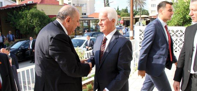EROĞLU, TÜRKEŞ'İ KABUL ETTİ