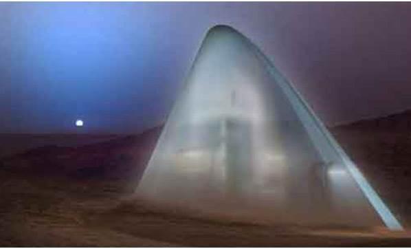 İŞTE MARS'TA İNŞA EDİLECEK EV