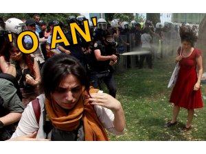 TAKSİM GEZİ'DEN O AN: POLİS SIKTI KIPIRDAMADI