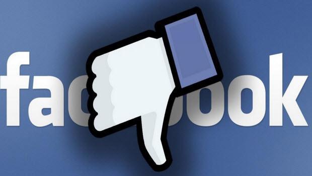 Facebook dün akşamdan itibaren..