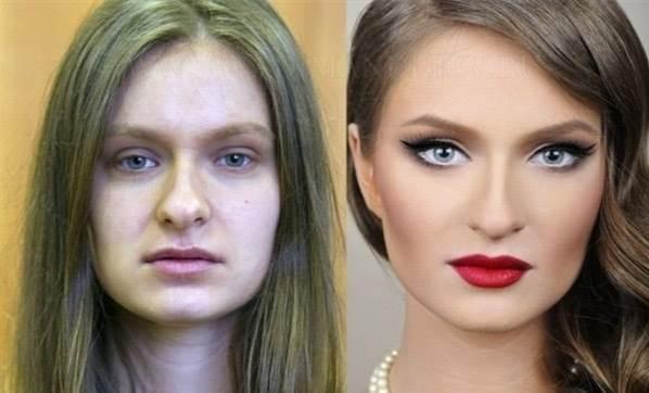'Makyaj yapmayan kadından korkun'