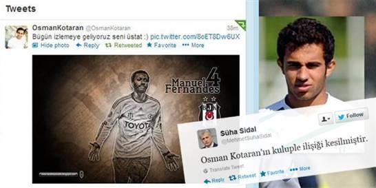 FERNANDES TWEET'İ BAŞINI YAKTI!