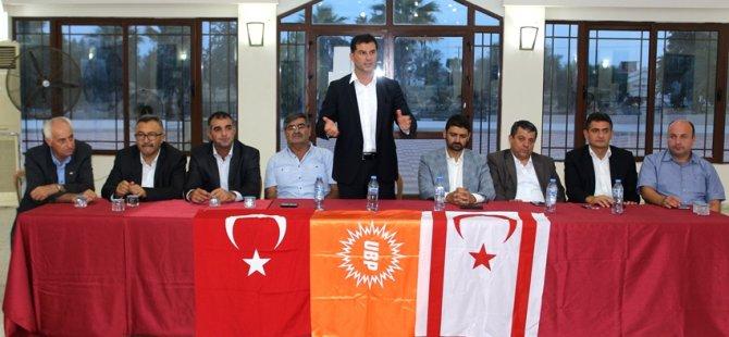 """""""UBP'NİN İDEOLOJİSİ ASLA DEĞİŞMEZ"""""""