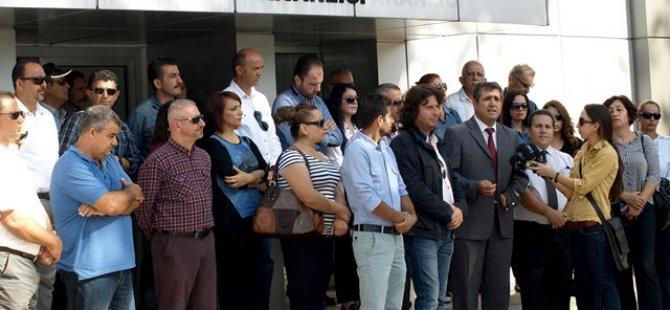 KTÖS'TEN GÖNYELİ İLKOKULU'NDA 3 SAATLİK GREV