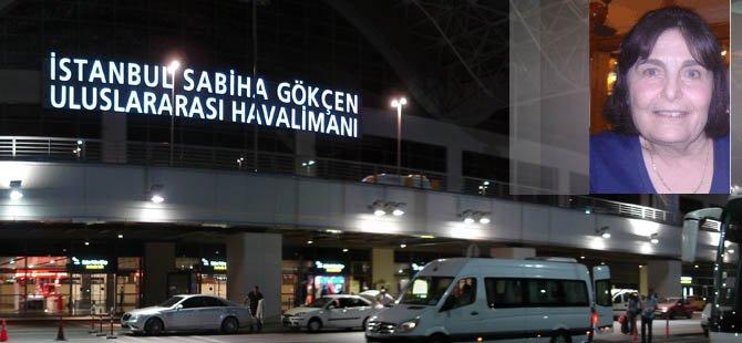 KIBRISLI TÜRK KADIN, SABİHA GÖKÇEN'DE BUHAR OLDU!