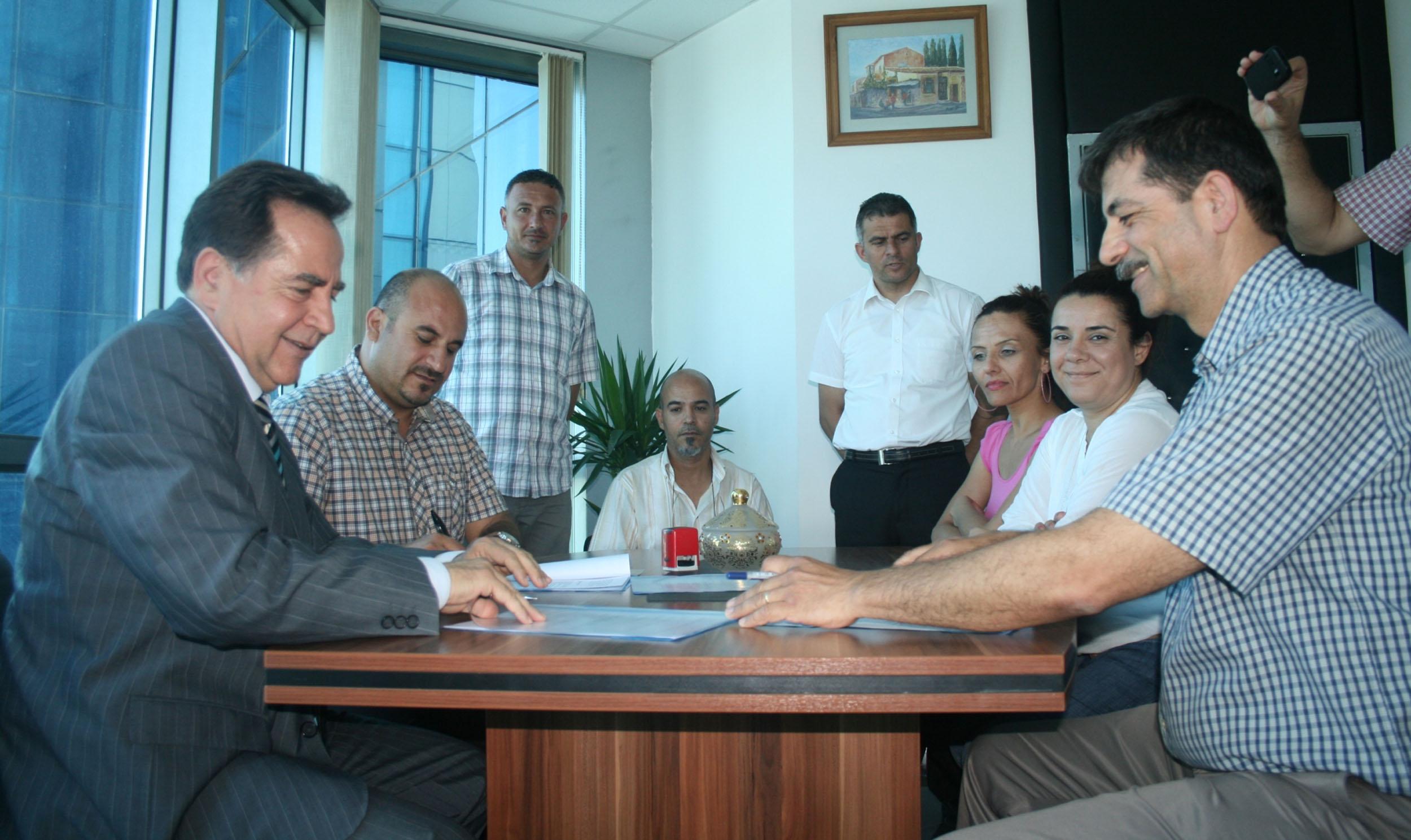 HAMİTKÖY'DE LTB'YE AİT BİNA HAK-DER'İN KULLANIMINA VERİLDİ