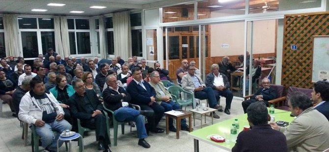 CTP VE AKEL ÖRGÜTLERİ BİR ARAYA GELDİ