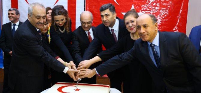 KKTC'NİN 32. KURULUŞ YILDÖNÜMÜ AZERBAYCAN'DA DA KUTLANDI