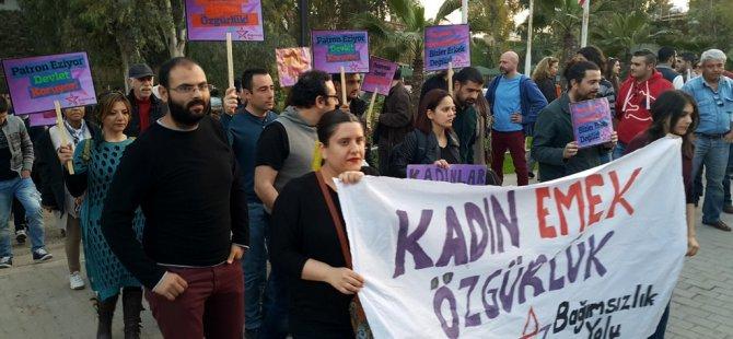 """""""KADINA ŞİDDETE HAYIR """"EYLEME ÇAĞRI!"""