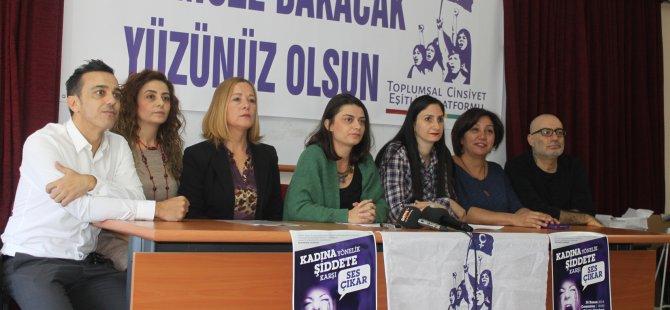 TOPLUMSAL CİNSİYET EŞİTLİĞİ PLATFORMU'NDAN ÇAĞRI!