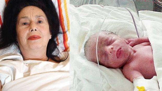 'En yaşlı annenin' küçük kızı büyüdü!