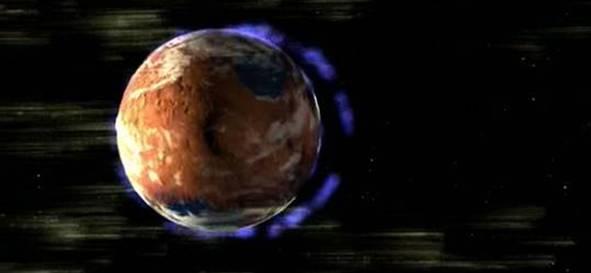 MARS'IN ATMOSFERİ UZAY'DA KAYBOLDU