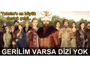 GERİLİM BİTENE KADAR DİZİ YOK!