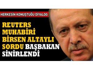 REUTERS MUHABİRİ SORDU, BAŞBAKAN ERDOĞAN SİNİRLENDİ