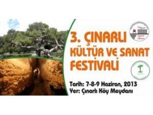 """3'ÜNCÜ ÇINARLI KÜLTÜR SANAT FESTİVALİ"""