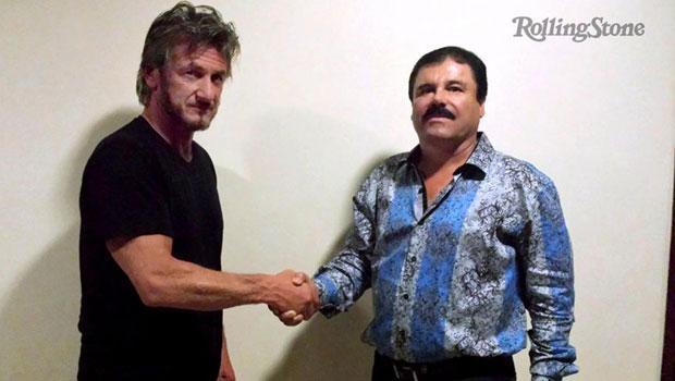 Uyuşturucu baronu Guzman'ı Sean Penn'e verdiği röportaj yakalatmış