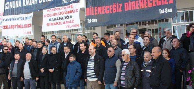 TEL-SEN EYLEMLERİNİ GAZİMAĞUSA'DA SÜRDÜRDÜ