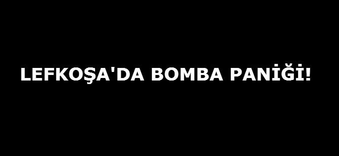 LEFKOŞA'DA BOMBA PANİĞİ!