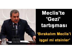 MECLİS'TE GEZİ TARTIŞMASI