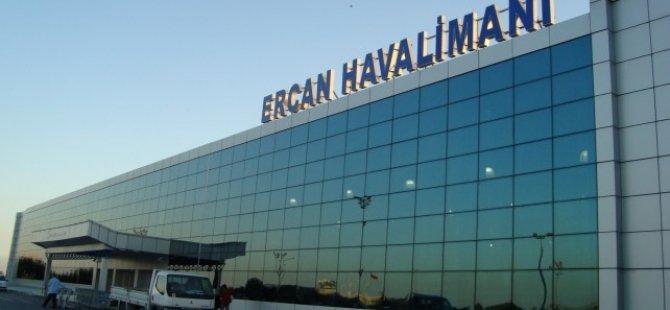 ERCAN HAVALİMANI'NDAN