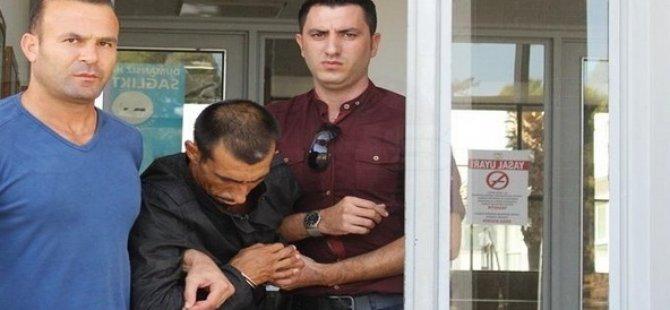 KAFA ATIP POLİSİN BURNUNU KIRMIŞTI