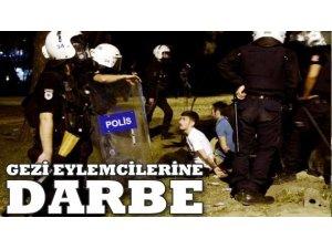 GEZİ EYLEMCİLERİNE 'DARBE' SORGUSU