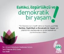 """CTP KADIN ÖRGÜTÜ'NÜN """"KADIN DOSTU KENTLER PROJESİ"""" YARIN TANITILACAK"""