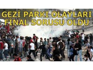 'GEZİ PARKI' OLAYLARI FİNAL SORUSU OLDU