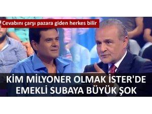 EMEKLİ SUBAYA BÜYÜK ŞOK!