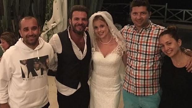 Dominik'te Düğün Yaptı!