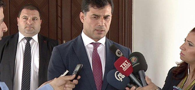 ''KIBRIS TÜRK TARAFININ EŞİTLİKTEN BAŞKA TALEBİ YOK''