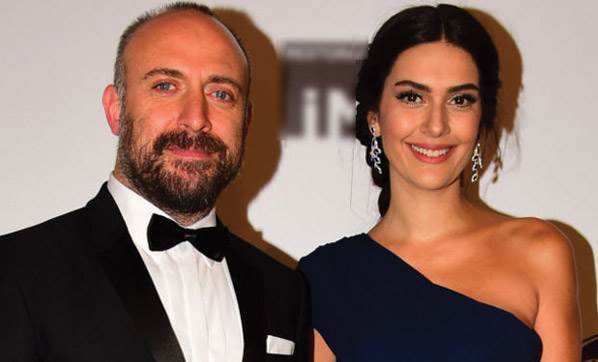 Halit Ergenç'ten Bergüzar Korel sitemi