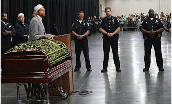 Muhammed Ali'nin Cenazesi'nde rezalet!