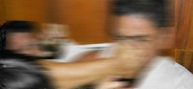 KAVGA ETTİĞİ ŞAHSIN BURNUNU KIRDI