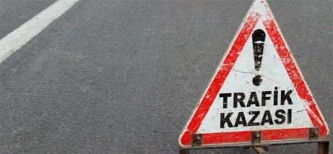 LEFKOŞA-GAZİMAĞUSA ANAYOLUNDA KAZA!