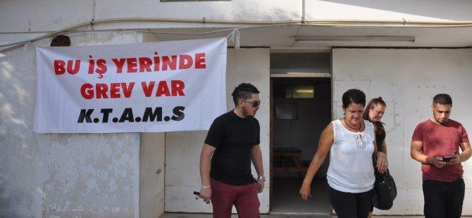 MOTORLU ARAÇLAR ŞUBESİ'NDE GREV VAR