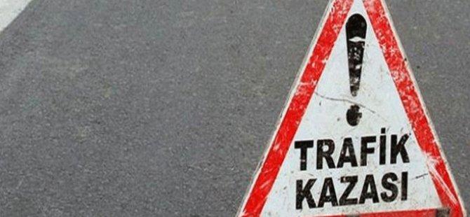MOTOSİKLET KAZASI : 1  AĞIR YARALI
