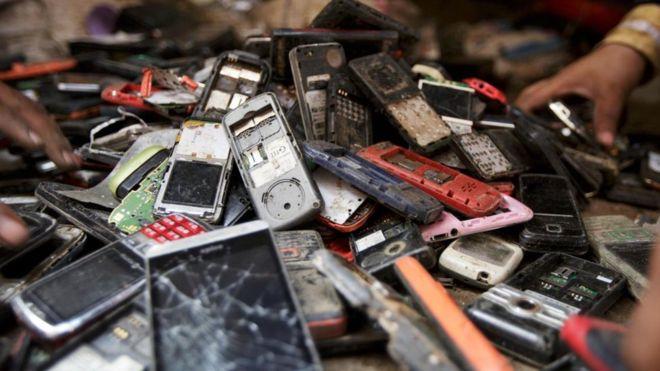Akıllı telefonlar değerli metallerle dolu
