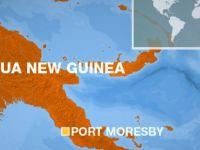 PAPUA YENİ GİNE'DE 7,9 BÜYÜKLÜĞÜNDE DEPREM