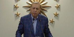 TC Cumhurbaşkanı Erdoğan: 'İlk defa sivil siyaset eliyle yönetim sistemi değişiyor'