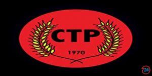 """CTP: """"HÜKÜMET İSTİFA ETMELİ VE ERKEN SEÇİMİN ÖNÜ AÇILMALI"""""""