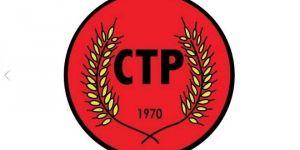 CTP:ERKEN SEÇİMİN ÖNÜ AÇILMALI!