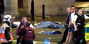 Londra'da bir kamyonet teravih çıkışında kalabalığın arasına daldı
