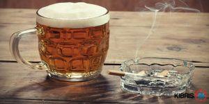 SİGARA VE ALKOL İLKOKULA GİRDİ!